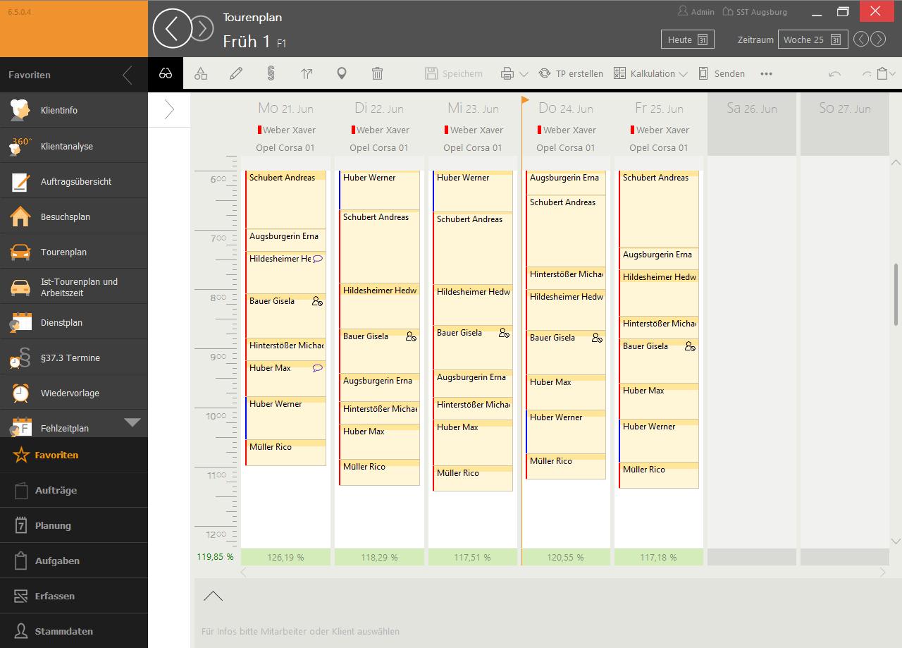 Tourenplanung auf Knopdruck